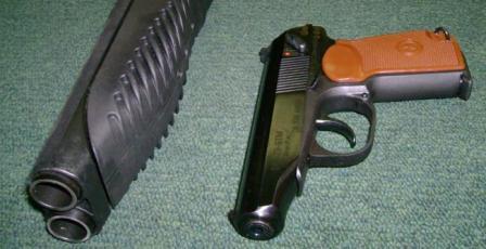 Пистолет травматический хауда мр 341 с